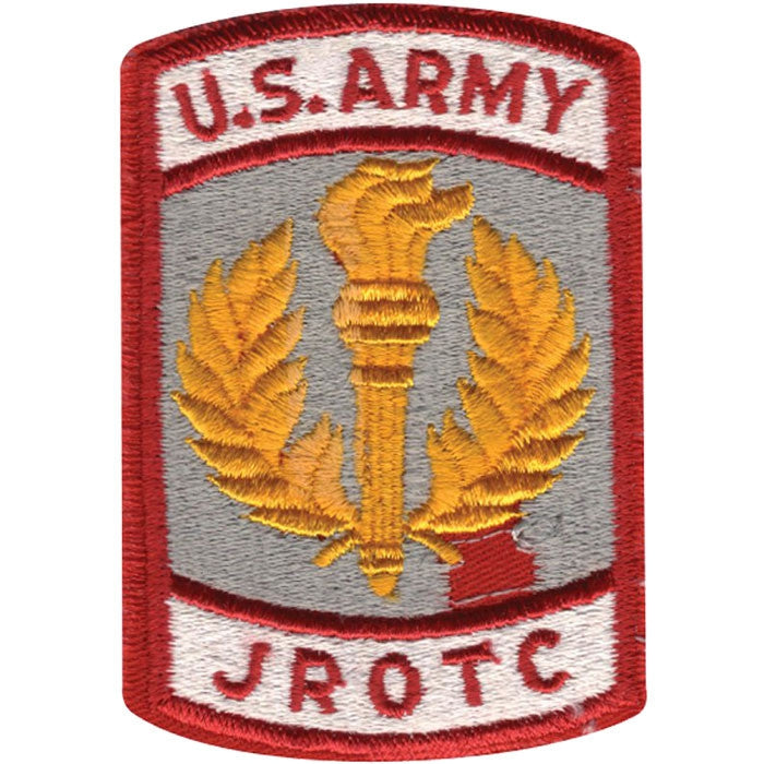 US ARMY JROTC Military Patch
