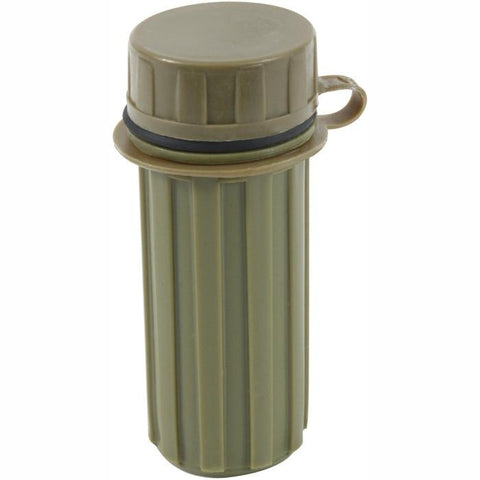 Olive Drab - Military Waterproof Camping Matches Container