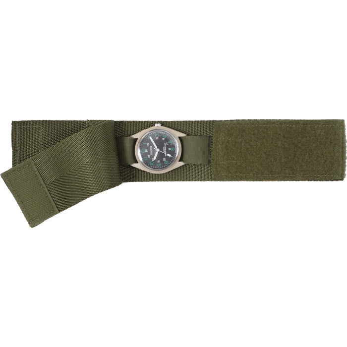 Olive Drab - Military GI Style Commando Watch Band