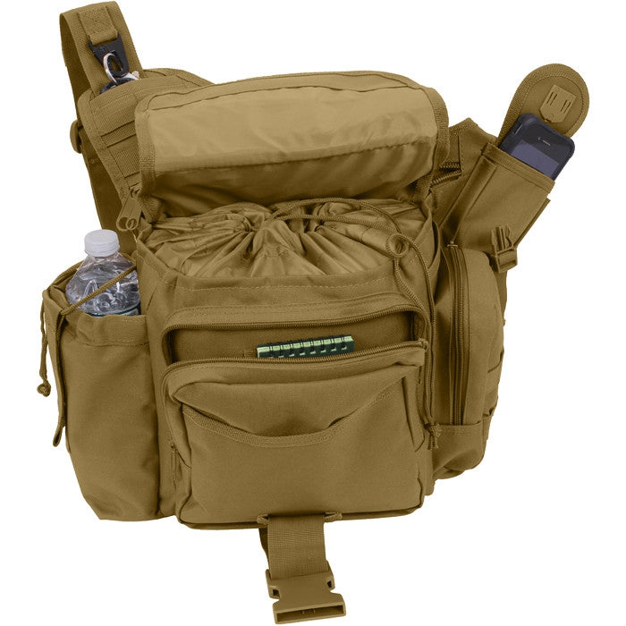 Coyote Brown - XL Advanced Tactical Shoulder Bag