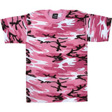 Pink Camouflage - Kids Military T-Shirt