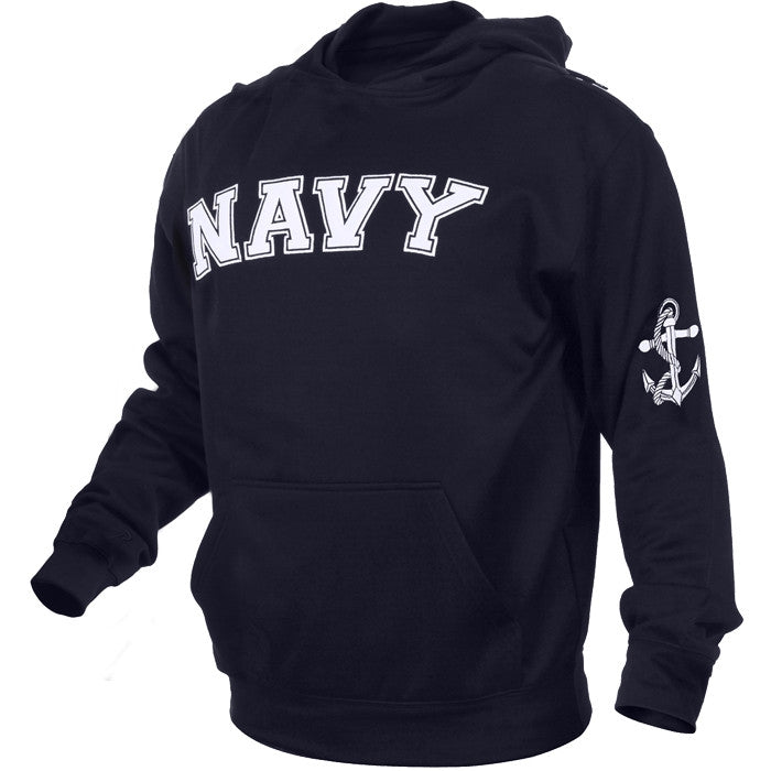 Navy Blue - Military US NAVY Pullover Hoodie Sweatshirt