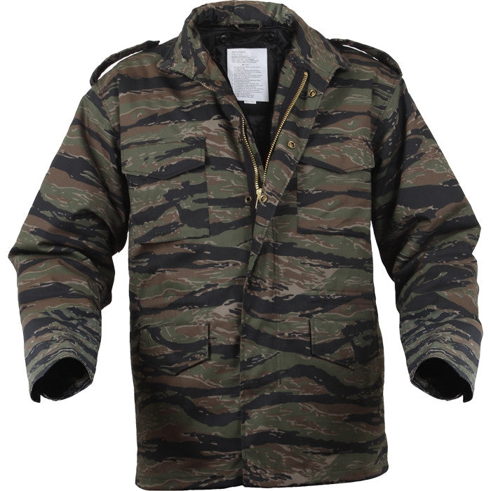 Tiger Stripe Camouflage - Military M-65 Field Jacket