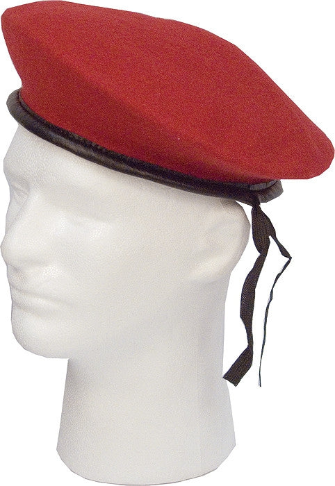 Red - Military Monty Beret