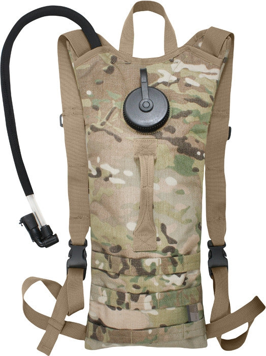 Multicam Camouflage - 3 Liter MOLLE Backpack Hydration System
