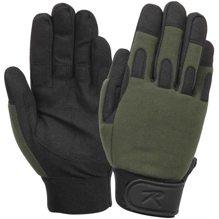 Olive Drab - Lightweight All Purpose Tactical Duty Gloves
