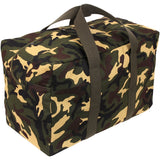 Woodland Camouflage - Military Parachute Traveling Cargo Bag