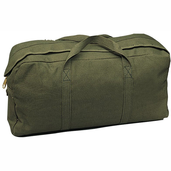 Olive Drab - Military GI Style Tanker Tool Bag - Cotton Canvas