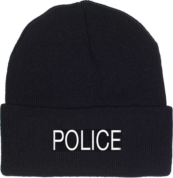 Black - Law Enforcement POLICE Watch Adjustable Cap
