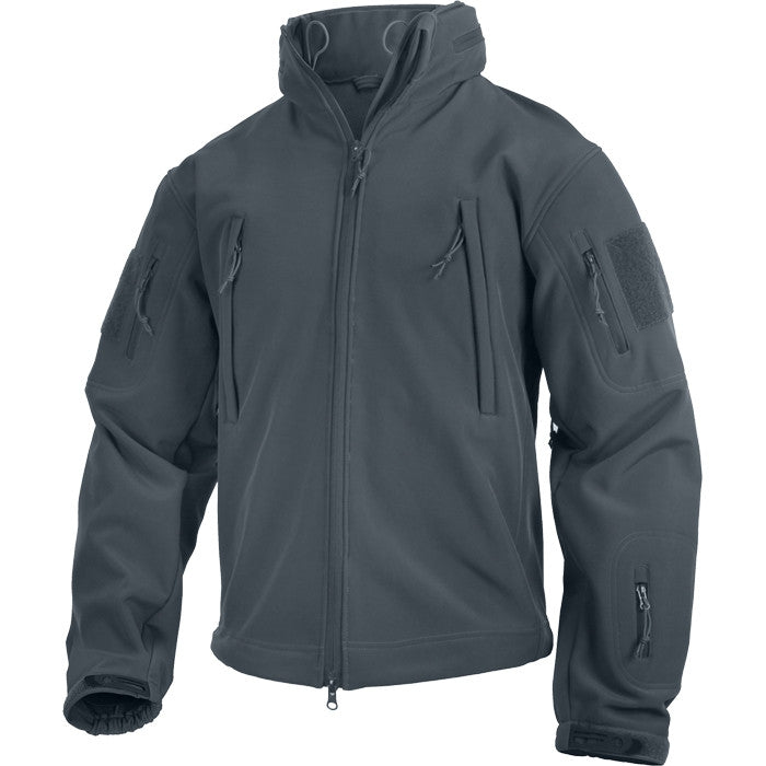 Gun Metal Grey - Tactical Special Operations Soft Shell Jacket
