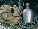Olive Drab - Military GI Style Canteen Straw Kit