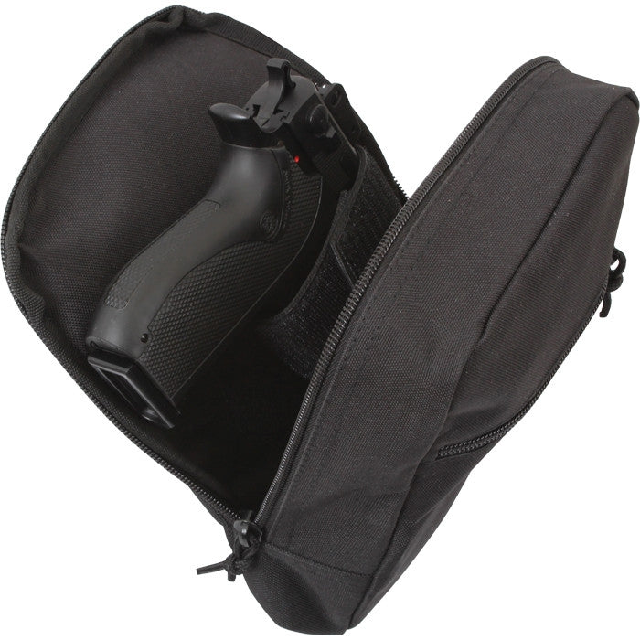 Black - Tactical MOLLE Concealed Weapon Carry Pouch