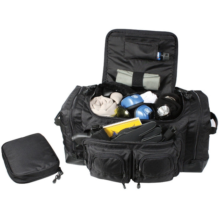 Black - Deluxe Law Enforcement Tactical Gear Bag