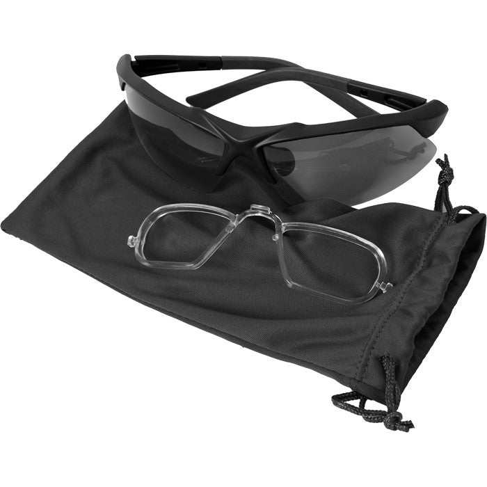 Black - Shatterproof Tactical Eyewear Kit