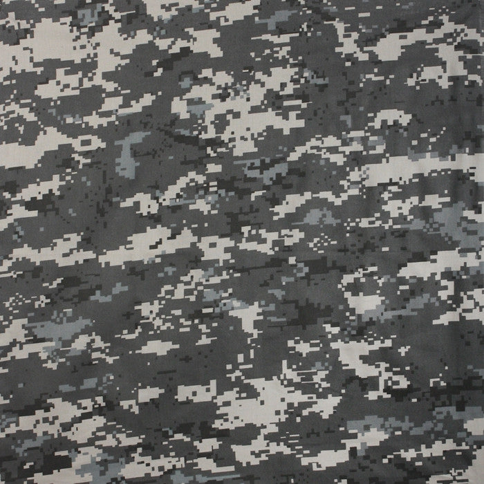 Subdued Urban Digital Camouflage - Military Bandana 22 in. x 22 in.