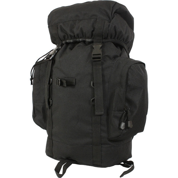 Black - 25 Liter Rio Grande Tactical Backpack