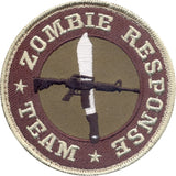 Zombie Response Team Patch with Hook Back