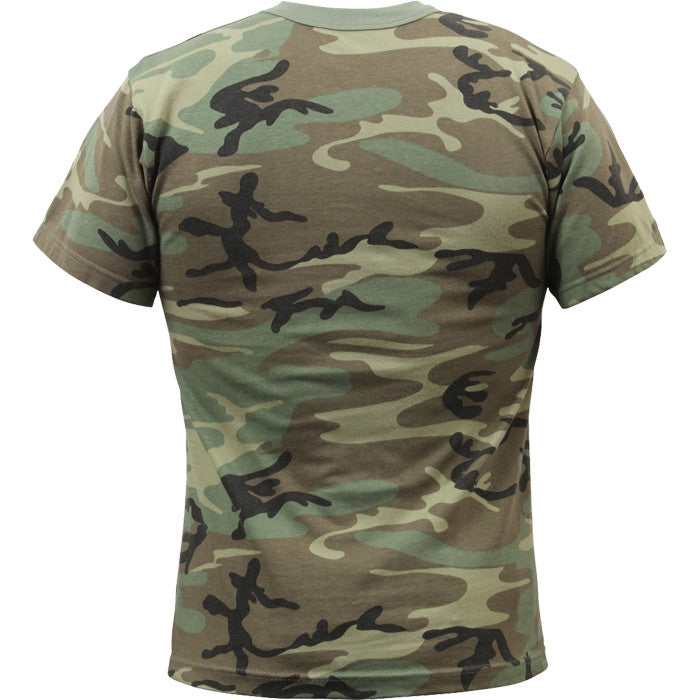 Woodland Camouflage - Military Vintage T-Shirt