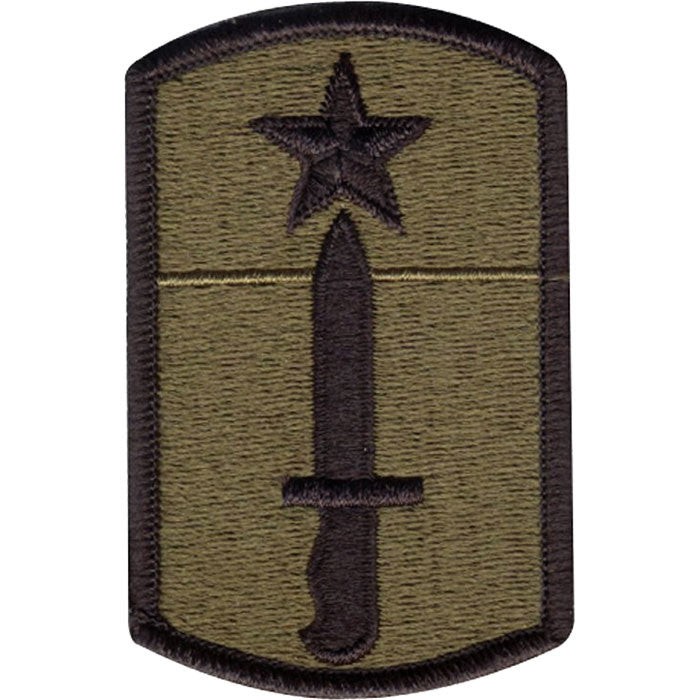 Subdued - US Army 205th Infantry Brigade Sew On Patch 3 in. x 2 in.