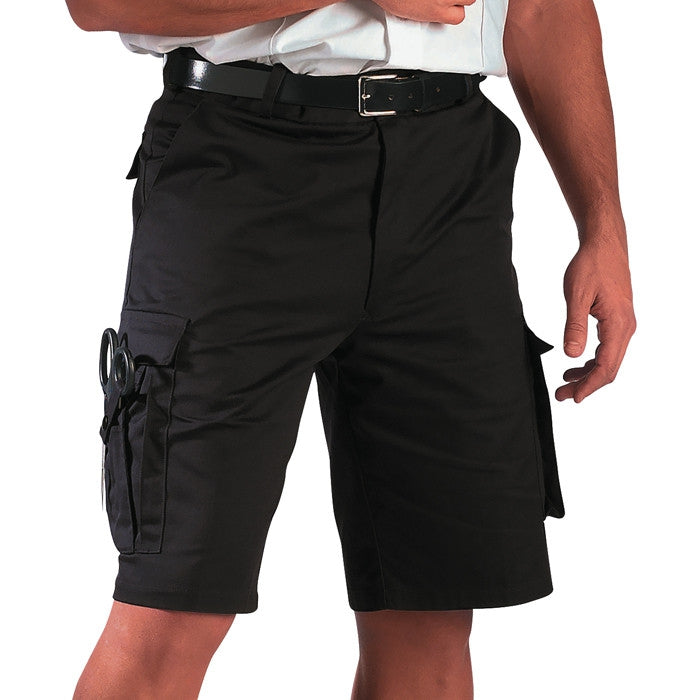 Black - EMT Shorts - Polyester Cotton Twill