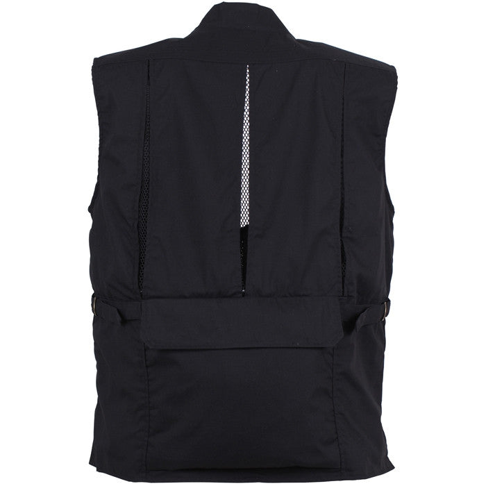 Concealed Safari Outback Carry Vest Black