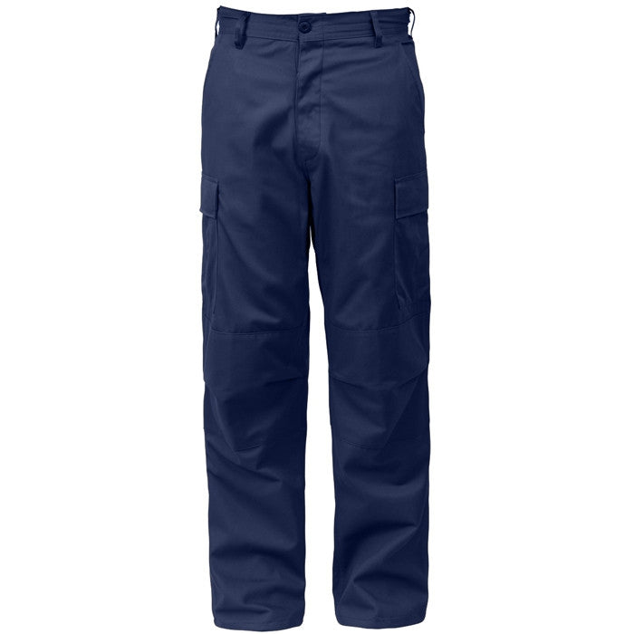 Midnite Blue - Military BDU Pants - Cotton Polyester Twill