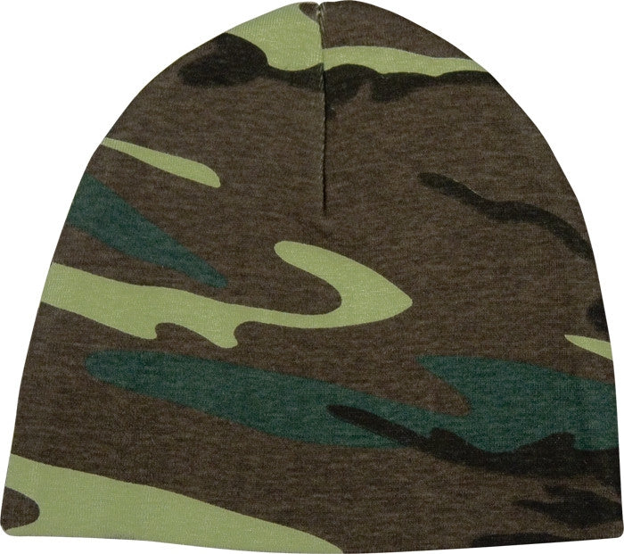 Woodland Camouflage - Military Infant Crib Cap