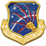US AIR FORCE COMMUNICATION SERVICE Sew On Patch 3.25 in. x 3.125 in.