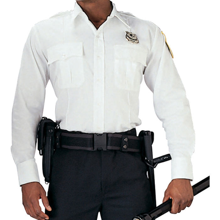 White - Official Law Enforcement Uniform Shirt Long Sleeve