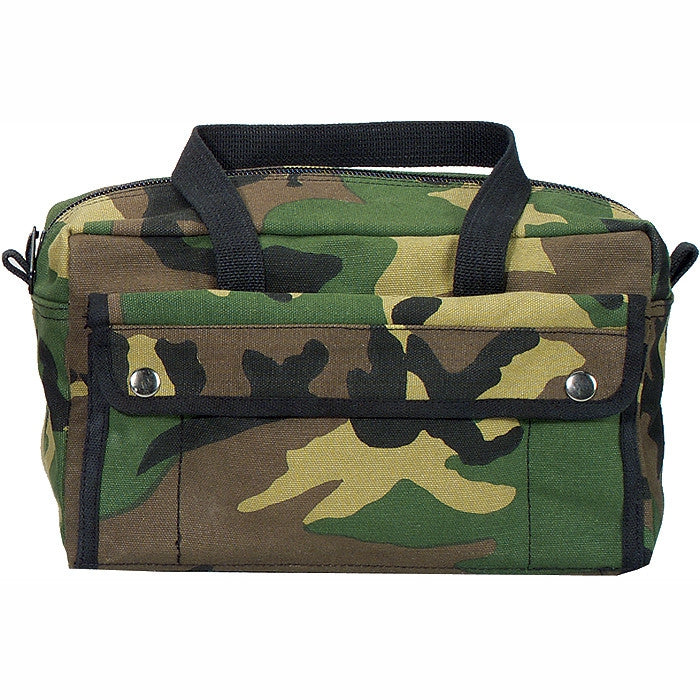 Woodland Camouflage - Mechanics Tool Bag - Cotton Canvas