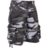 City Camouflage - Military Vintage Infantry Utility Shorts