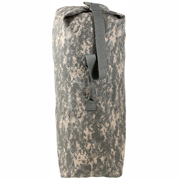 ACU Digital Camouflage - Military Duffle Bag with Shoulder Strap 25 in. x 42 in. - Cotton Canvas