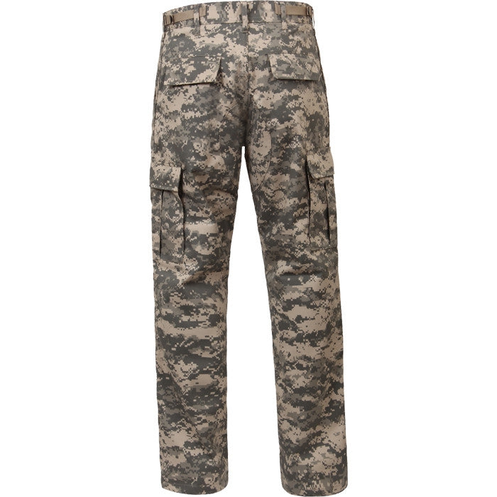 ACU Digital Camouflage - Military BDU Pants - Cotton Polyester Twill