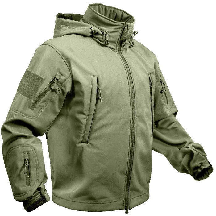 Olive Drab - Tactical Special Operations Soft Shell Jacket
