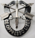 Special Forces DE OPPRESSO LIBER Pin-On Crest Insignia