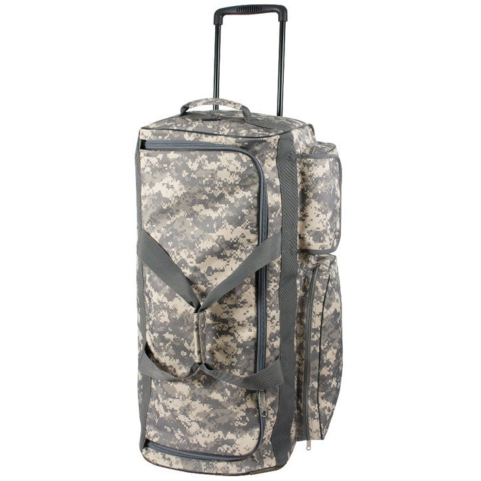 ACU Digital Camouflage - Military Expedition Wheeled Travel Bag 30'' x 14'' x 14''