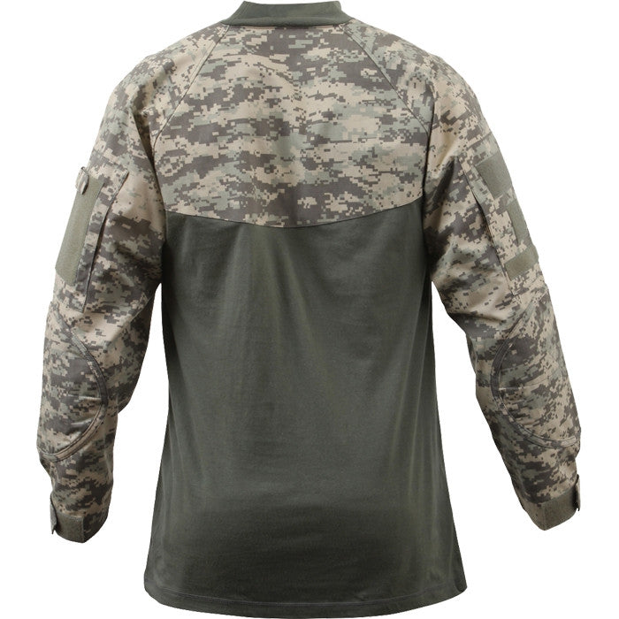 ACU Digital Camouflage - Military Tactical Lightweight Flame Resistant Combat Shirt
