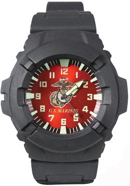 Black - Aquaforce Marines Combat Watch