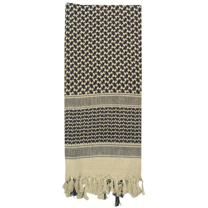 Tan - Lightweight Tactical Desert Shemagh Scarf
