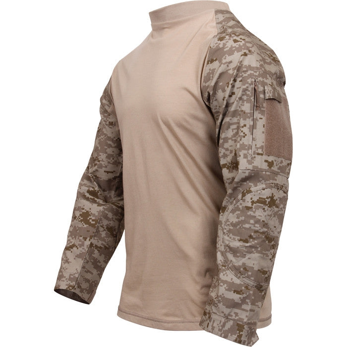 Digital Desert Camouflage - Tactical Airsoft Lightweight Combat Shirt