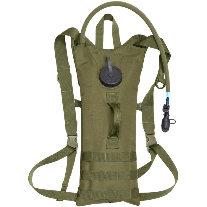 Olive Drab - Tactical MOLLE Backstrap 3-Liter Hydration System