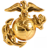 USMC Globe and Anchor Pin-On Insignia USA Made Brass