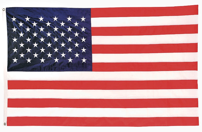 RED WHITE BLUE - Deluxe US American Flag 5' x 8'