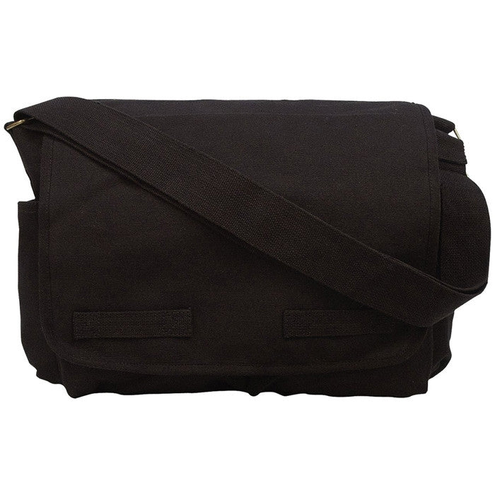 Black - Heavyweight Classic Messenger Bag