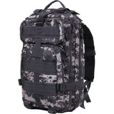 Subdued Urban Digital Camouflage - Military MOLLE Compatible Medium Transport Pack