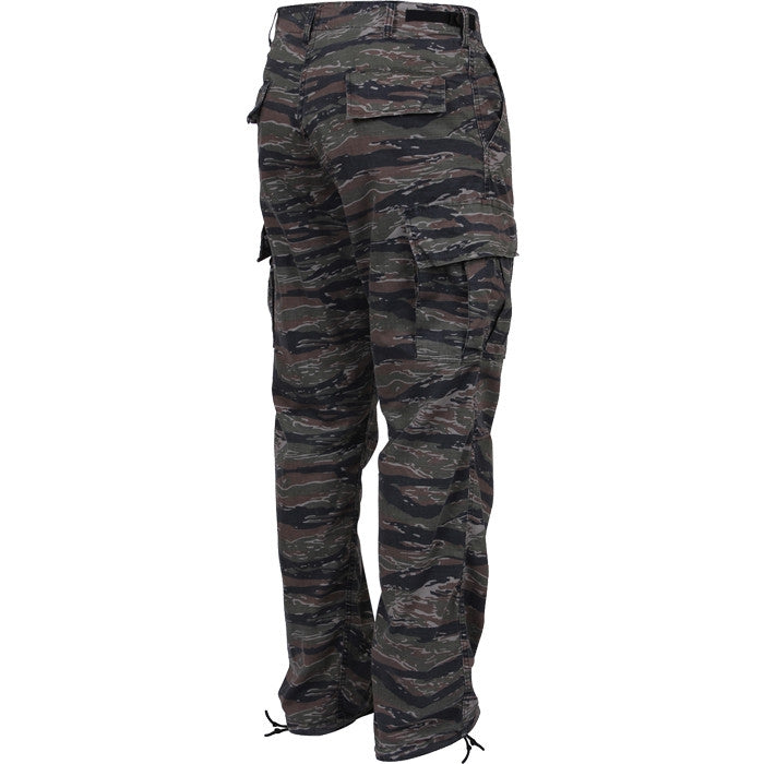 Tiger Stripe Camouflage - Military BDU Pants - Polyester Cotton Twill