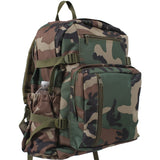 Woodland Camouflage - Military Style Jumbo Backpack