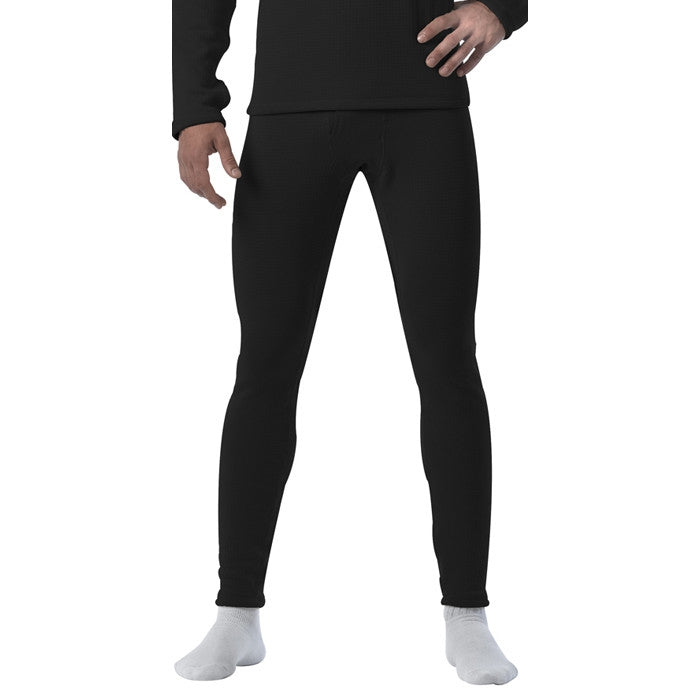Black - ECWCS Generation III Cold Weather Thermal Underwear Pants