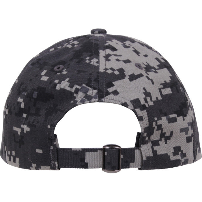 Subdued Urban Digital Camouflage - Military Low Profile Adjustable Baseball Cap