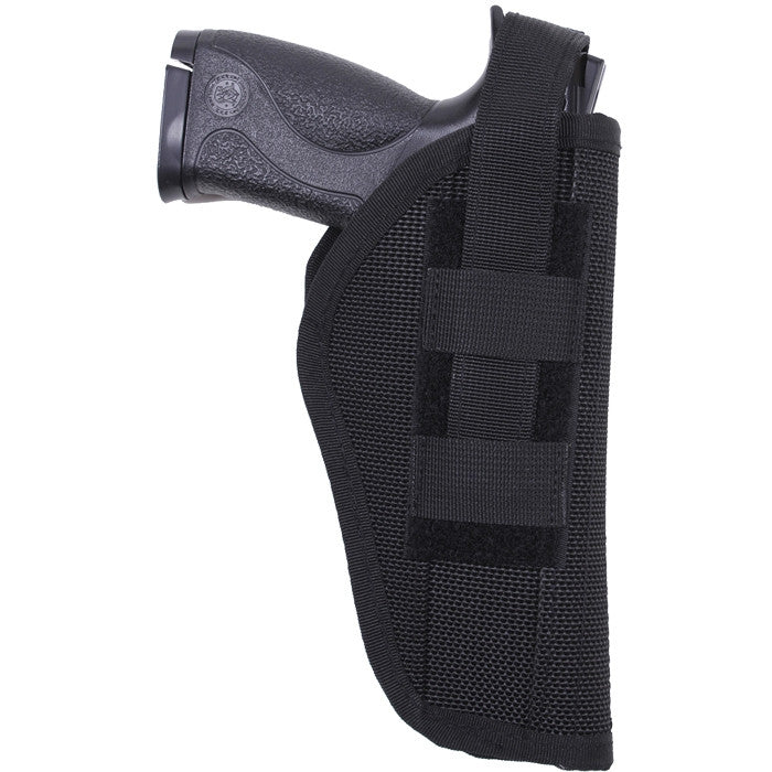 Black - Police Tactical Cordura Adjustable Holster 4 in. 5 in.